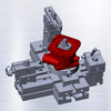 轉換閥體鉆床組合夾具