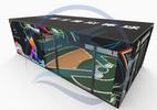智龙体育室内模拟棒球综合运动场馆棒球设备游乐趣味棒球运动设备潮玩馆棒球