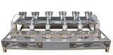 亞歐 六聯不銹鋼溶液過濾器 DP-DLC6