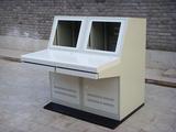 双联全钢19液晶控制台单联操作台控制台编辑台