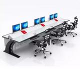 豪华操作台监控操作台包木操作台控制台厂家直销可定制非标操作台