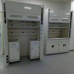佛山厂家PP全钢化学实验台通风柜 不锈钢落地式实验室通风厨