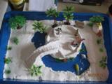 亲子 diy 可以反复使用 空气粘土体验版 幼儿园区角活动材料