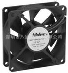 nidec-fan80x80x25mm D08A,日本电产逆变器专用小型散热风扇