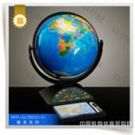 天朗紫微供应学习教学专用32cm语音地球仪摆件印象海洋(IV) (黑色支架)