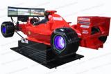 三屏全动感F1赛车模拟器