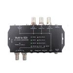 Multi to sdi视频转换器模拟分量VGA HDMI转SDI转换盒