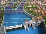 橡胶坝水利工程模型