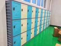 学校宿舍ABS全塑料更衣柜,学生储物柜