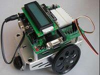 基于C51和AVR教學機器人寶貝車