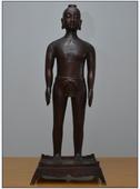 仿明代针灸铜人模型,全铜制造仿古针灸铜人模型