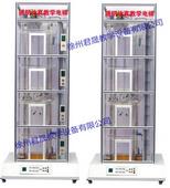 JS-DT-B型 四层双联透明仿真教学电梯实训装置