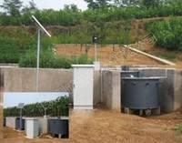 储水桶式地表径流测量系统
