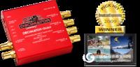 DECIMATOR-QUAD 迷你3G/HD/SD-SDI Quad-Split 带SD-SDI及复合输出