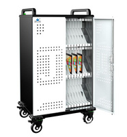 iPad 平板电脑充电柜 电子书包柜 笔记本集中管理充电箱 移动推车PAD-JQ60