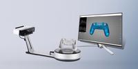 桌面式高精度全自動三維掃描儀