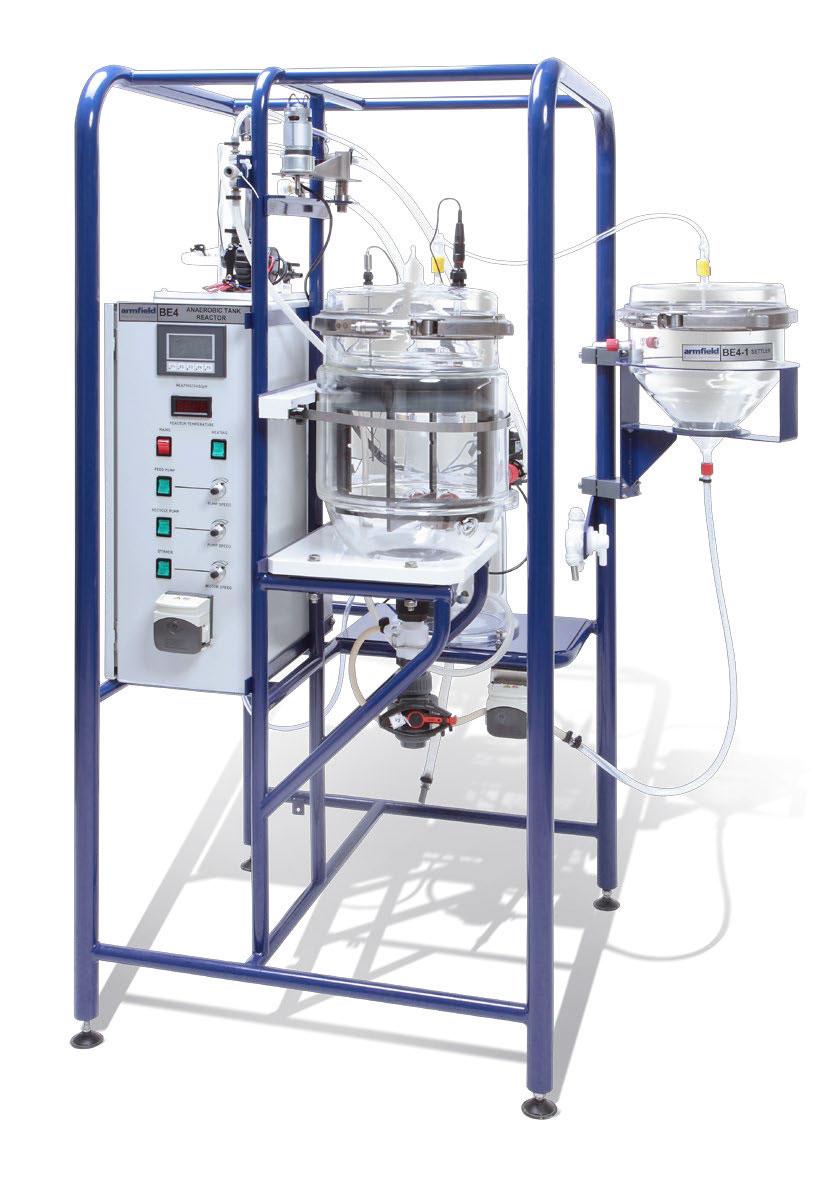 Armfield品牌   BE4釜式厌氧反应器