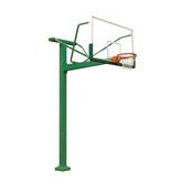 HKLJ-1010A 固定式單臂籃球架 高強度安全玻璃籃板