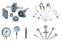 铠装热电偶、PT100热电阻、一体化温度变送器