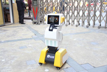 紅寶識晨檢機器人-兒童非接觸晨檢機器人-無接觸晨檢機器人功能
