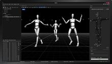 OptiTrack品牌  教學實驗示教儀器及裝置  Motive Body身體捕捉軟件