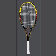 天龙【Teloon】天龙网球拍全碳素一体初学男女学生成人套装 魅力黄 SPACE XII