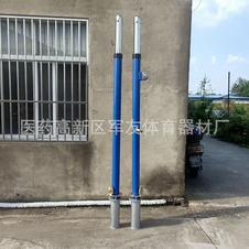 排球柱插地式排球柱 固定式排球柱 地埋插入式排球柱