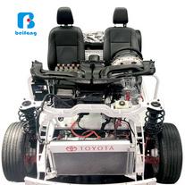 汽車教具 汽車教學實訓設備 豐田卡羅拉混合動力底盤智能網聯互動系統 新能源汽車實訓設備