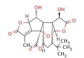 银杏内酯K,银杏内酯153355-70-5,Ginkgolide K