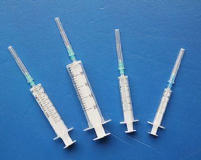 无橡胶塞注射器|工业针筒二件套塑料针管|化学腐蚀