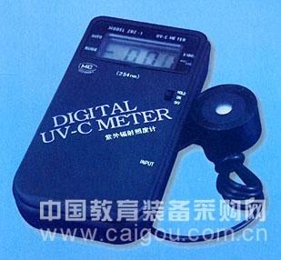 紫外辐射照度测量仪/紫外线照度计/紫外线强度测量仪/数显紫外线测量仪 型号:HA-ZDZ-1/UV-CMETER