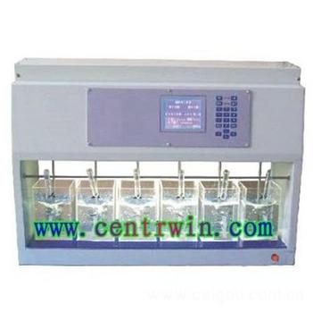 程控混凝试验搅拌器/六联搅拌器 型号:HL-KTS6-4