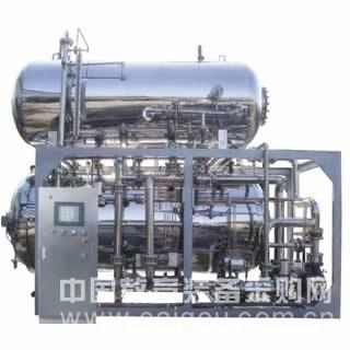 全自动双层水浴式高温高压调理杀菌锅XZDSC13-2
