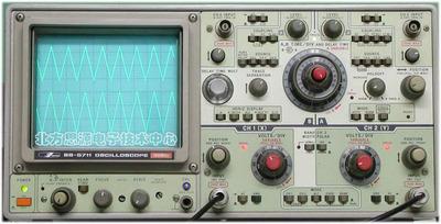 模拟示波器100MHz SS-5711 二手示波器