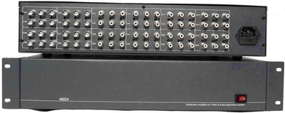 8进16出双声道音视频分配器