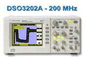 200MHZ数字储存示波器