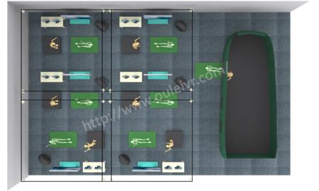 北京欧雷  软件及平台系统 vr教学软件  虚拟仿真实训室建设