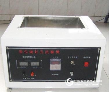 F764 漆包线电性能检测仪,盐水针孔试验机