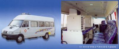 CA-9000型矿井救灾气体化验车