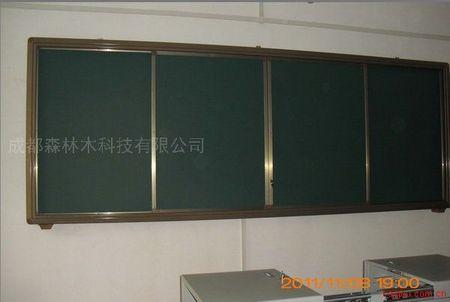 生产与班班通工程电子白板配套使用的推拉黑板带锁
