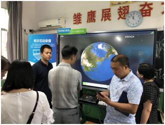 科技为教师赋能,希沃助力镇坪县新永利皇宫个人登录系统技术培训