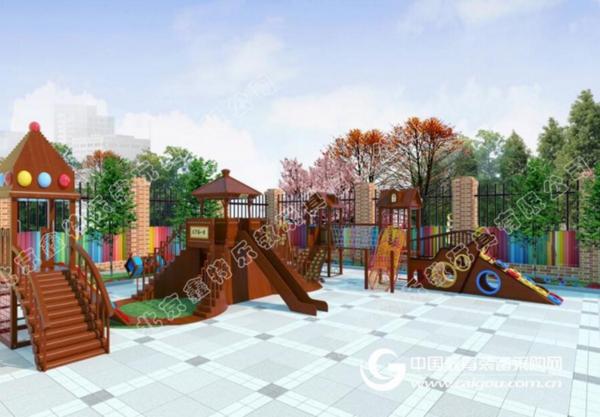 鑫特乐大型木质小博士组合  打造新型儿童乐园