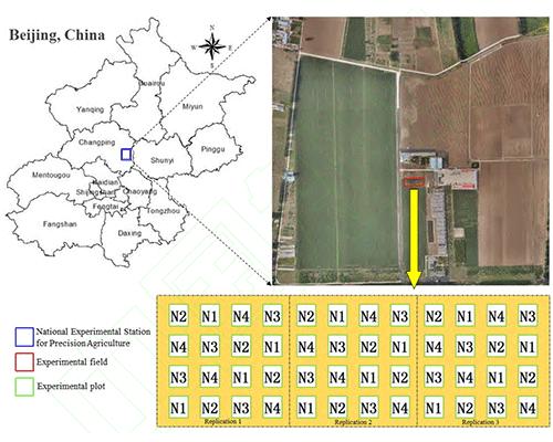 利用S185机载高光谱成像仪进行小麦LAI拟合研究