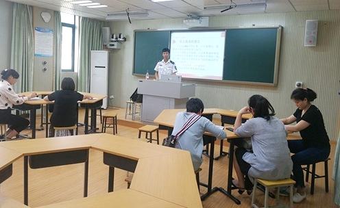 绵阳市富乐实验幼儿园开展教师消防安全培训