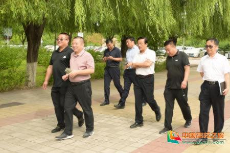 河北民族师范学院领导实地检查开学复课前各项准备工作