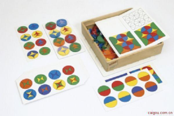 构成圆形与方形游戏