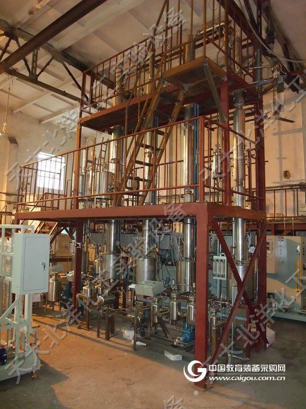 不锈钢多塔萃取精馏中试装置