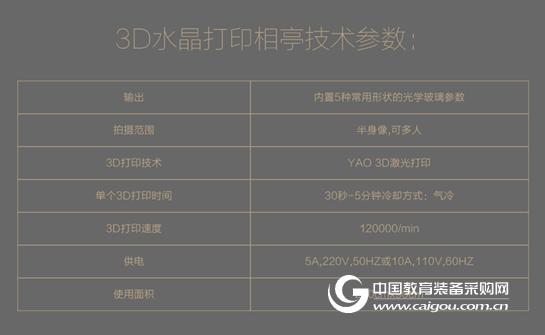 易尚3D 激光三维水晶像亭