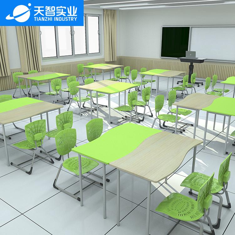 36位通用教室4(S形桌)