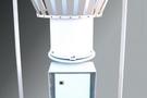 称重式降水传感器应用于陕西气象局